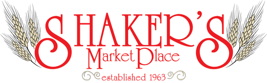 A theme logo of Shaker's MarketPlace